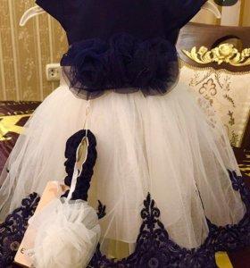Новое платье для принцессы c повязкой на голову)