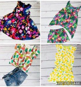 Детская одежда next Zara H&M и др