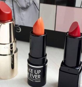 Помада 💄 Clarins, givenchy, make up for ever