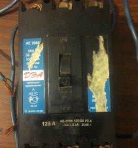 Автоматический выключатель АЕ 2066 250A