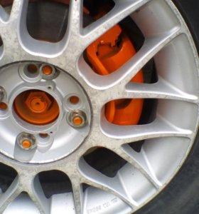 Покраска тормозных дисков супортов