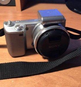 Продам беззеркальную фотокамеру