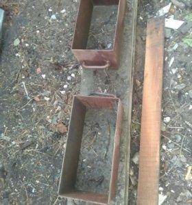 Форма для заливки блока