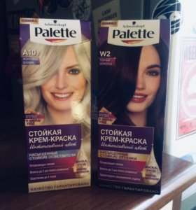 Новая краска для волос Palette