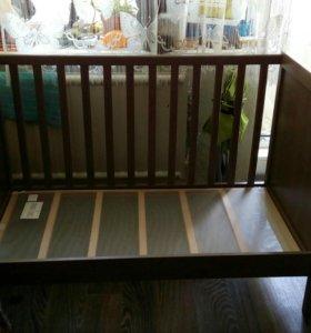 Кроватка детская Икеа сундвик
