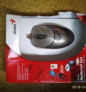 Новая мышка проводная