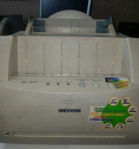 Принтер лазерный Samsung 1210