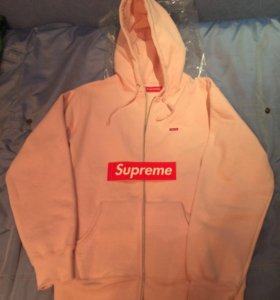 Supreme Small Box Zip Up Sweatshirt