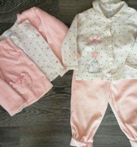 Одежда для девочки 74-80.zara,crockid