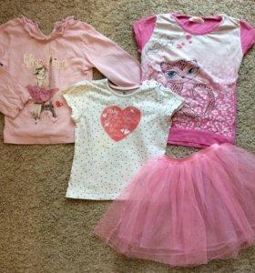 Одежда пакетом для девочки