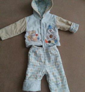 Детский утеплённый костюм