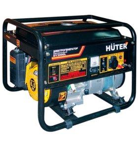 Бензогенератор huter dy3000l