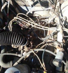 Двигатель и кпп газ53