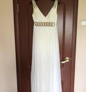 Греческое шифоновое платье