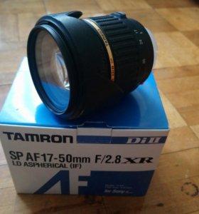Объектив Тамрон 17-50 /f2.8 для Sony