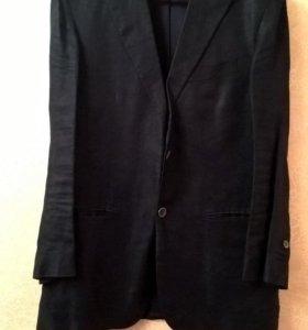 Massimo Dutti льняной жакет 50-52 размер, L