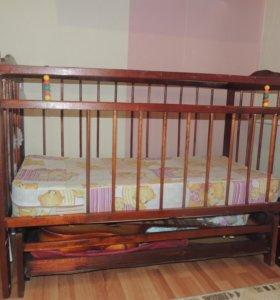 Кроватка (маятниковый механизм)