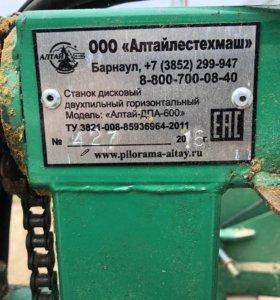 Дисковая пилорама ДПА-600