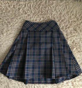 Школьная форма,жилет + юбка