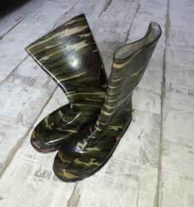 Сапоги резиновые 45 размер