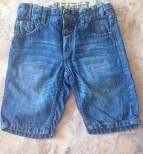Бриджи джинсовые детские