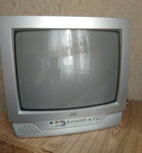 Телевизор jvs, диагональ 35 см.