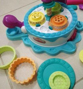 Play-doh фабрика тортиков