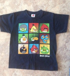 2 футболки Angry Birds