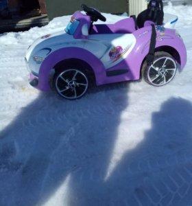 детская машина на пульте управления