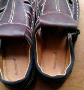 Новые.Летние сандали.нат.кожа 40-41р
