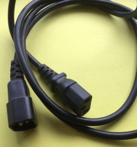Кабель питания для ИБП, кабель питания удлинитель