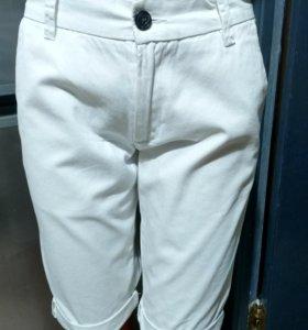 Шорты белые джинц