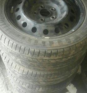 Колеса Toyota Сorolla R16
