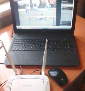 Ноутбук, комплект для инета