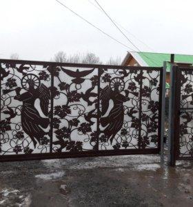 Забор на любой вкус и цвет