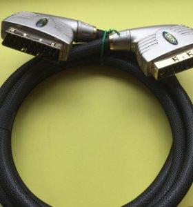 Кабель Scart IXOS XHT601-150, 1,5 м. Скарт кабель