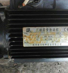 Электродвигатель 0,37 кв, 1400 обор