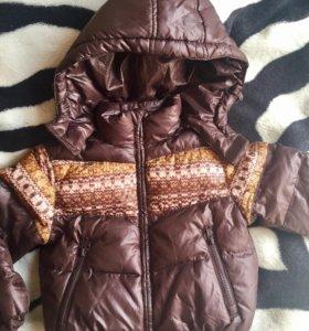 Зимняя куртка для мальчика 92р