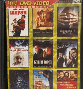 DVD диски фильмы, концерты по 50 р каждый