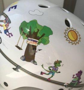 Шлем детский новый ( велосипед/ролики