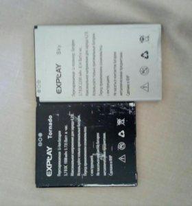 Батарейки на телефон expLAY