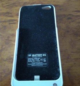 Чехол-зарядка для IPhone 5, 5s
