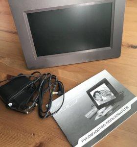 Цифровая фоторамка digma pf-730