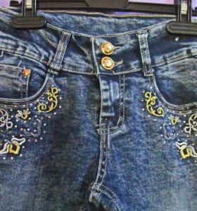джинсы стрейч весенне-летние