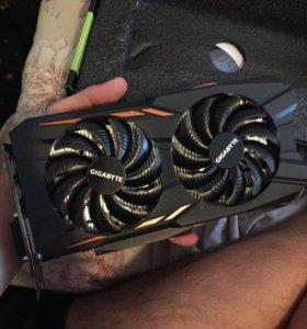 Видеокарта Gigabyte GeForce GTX 1050 WF2