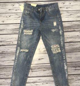 Новые джинсы 26 размер