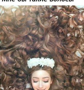 Акция на наращивание волос