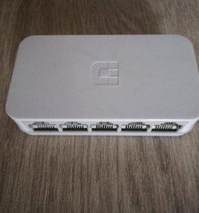 Коммутатор d-link 5 port 10/100 desktop switch