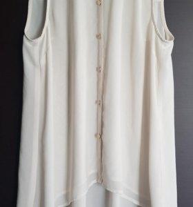 Блуза/ рубашка с удлиненной спинкой Oasis 44-46р