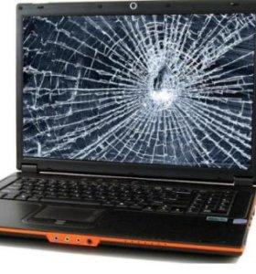 Экраны, дисплеи, матрицы для ноутбуков. Замена